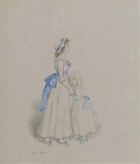 sisters by kate greenaway