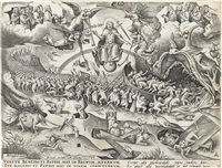 the last judgment by pieter brueghel the elder