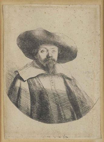 samuel manasseh ben israel by rembrandt van rijn