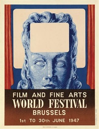 film and fine arts world festival/brussels by rené magritte