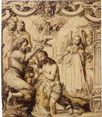 the baptism of christ by daniel lindtmayer the younger