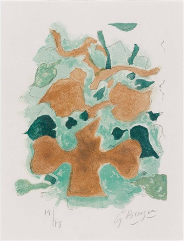 la forêt by georges braque