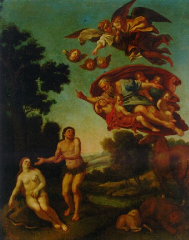 The Expulsion From The Garden Of Eden By Domenico Zampieri Il Domenichino On Artnet