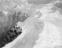 gletscheraufstieg 20. dezember by ernst dosenberger