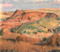 paisaje burgalés by marceliano santamaria y sedano