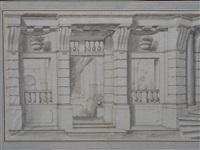 façade italienne aux balustres by mauro antonio (maurino) tesi