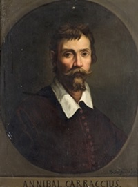 retrato de annibale carracci by jose maria rodriguez losada