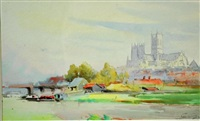 lincoln, early morning by william a. macdonald