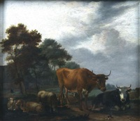 vaches by albert jansz klomp