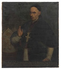 retrato de don fray antonio de san miguel by josé de alcibar