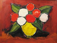white and red flowers by ion pacea