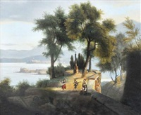 paysage de lac italien by gabriele smargiassi