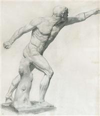 le gladiateur borghèse by james ensor