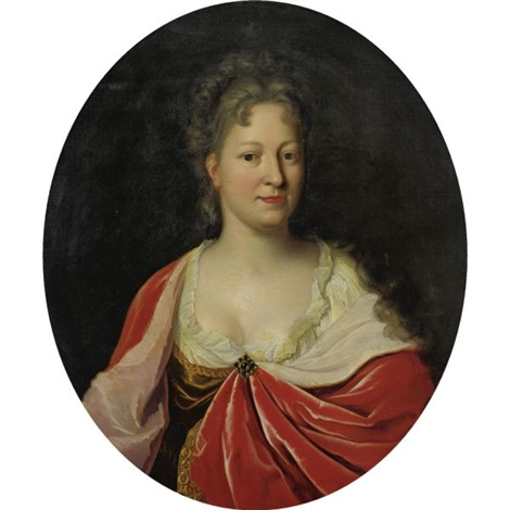 portrait of a lady by pieter van der werff