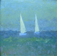 two sailboats by terry rockwood