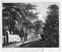 verschiedene landschaften (3 works) (+ landschaft mit gehöft; 4 works) by christoph nathe
