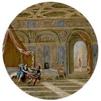 joseph and potiphar's wife by filippo (il bizzarro) gagliardi