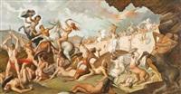 battaglia tra amazzoni e centauri by otto maraini