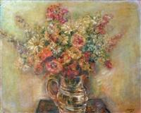 bouquet de fleurs sur la table by léopold kretz