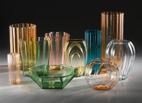 Collection Of Vases Set Of 10 By George Sakier On Artnet