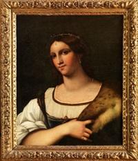 portrait de femme by italian school (16)