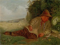 afternoon rest by james smetham