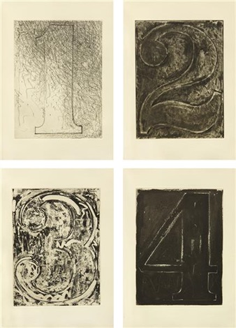 fizzles (foirades) book (set of 33) by jasper johns
