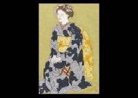 sitting maiko by sho ishimoto