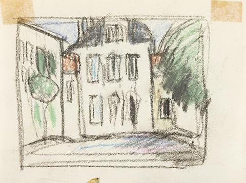 french street scene by john duncan fergusson
