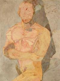 figure with folded arms by nancy grossman