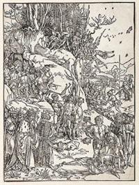 martyrdom of the ten thousand by albrecht dürer