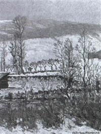 derrière le château de thielle by charles baillon-vincennes