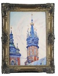 wieże kościoła mariackiego w krakowie by henryk uziemblo