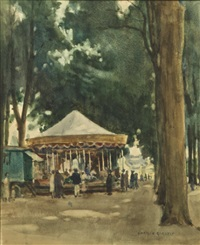 the carousel by norman garstin