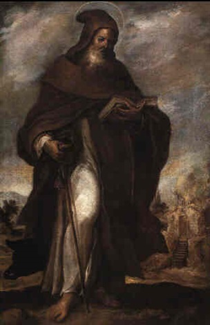 st anthony abbot by francisco camilo