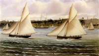sailing off sidney by charles f. gerrard