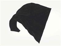 black flag #5 by robert longo