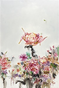 the flowers are so beautiful iii by lian xue ming