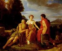 allegoria delle età dell'uomo by vincenzo camuccini