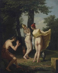 les callipyges grecques by robert jacques francois faust lefevre