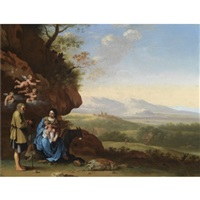 the rest on the flight into egypt by johan van haensbergen