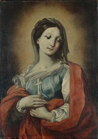 the madonna by francesco giovanni gessi