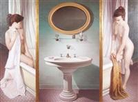 triptico de un baño by miguel avataneo
