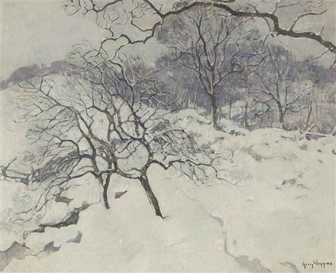 winter in the country by guy carleton wiggins