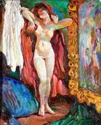 desnudo con capa by rafael figuera aymerich