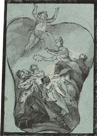 allegorische darstellung by johann wolfgang baumgartner