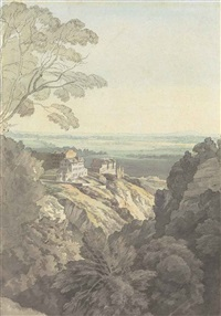 bristol from the downs by john white abbott