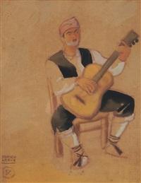 le joueur de guitare by ramiro arrue