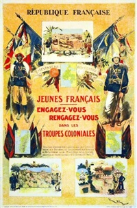 engagez vous réengagez vous dans les troupes coloniales by george bertin scott