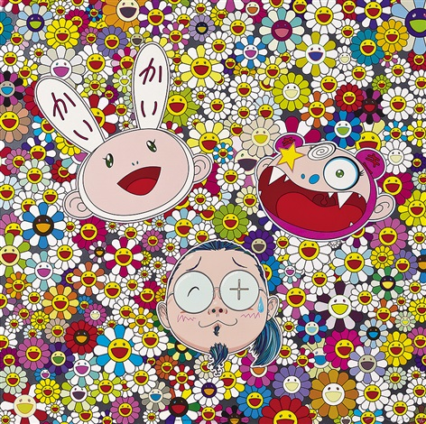 kaikai kiki and me for better or worse in good times and bad the weather is fine by takashi murakami